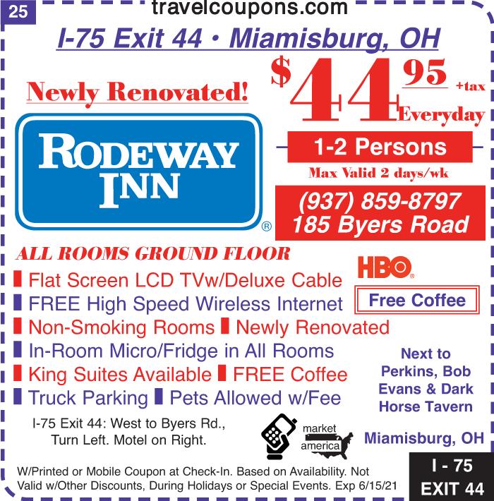 A oh rodeway i 75x44