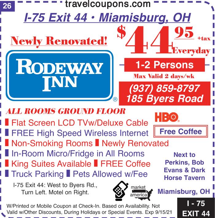 B oh rodeway i 75x44