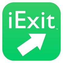 iExit Interstate Exit Guide Logo