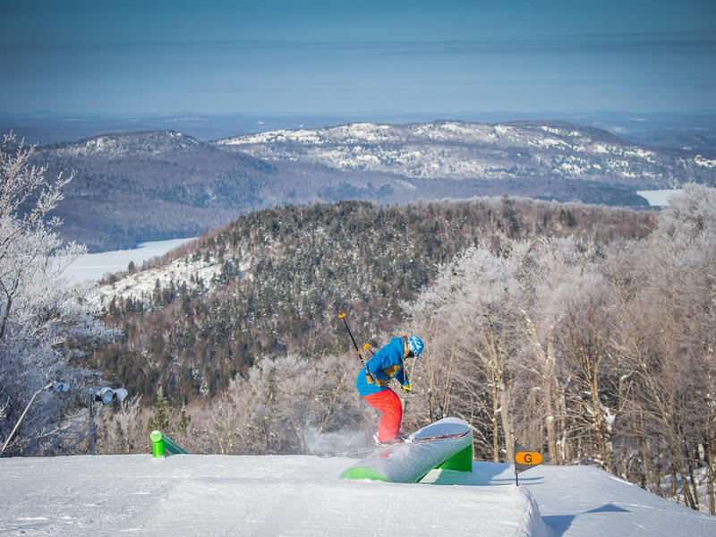 Skiing tremblant photos