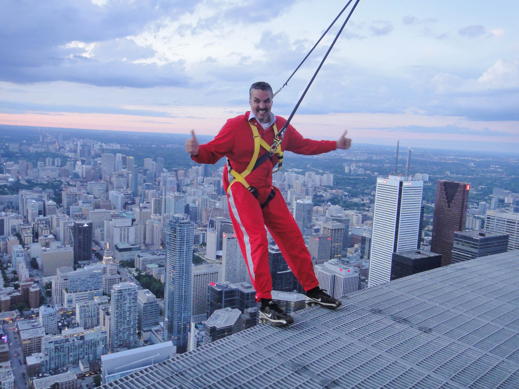 """CN Tower Edgewalk"" by Kevin Costain via Flickr Creative Commons"