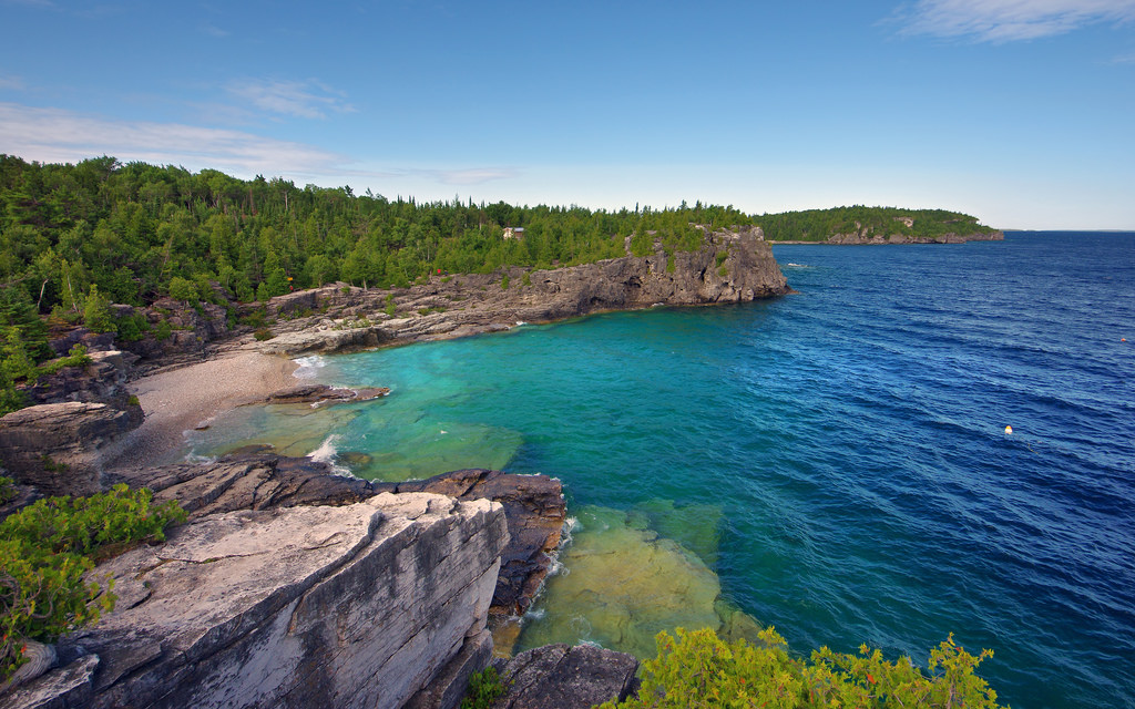 """Indian Head Cove Bruce Peninsula National Park "" by Colonel John Britt via Flickr Creative Commons"