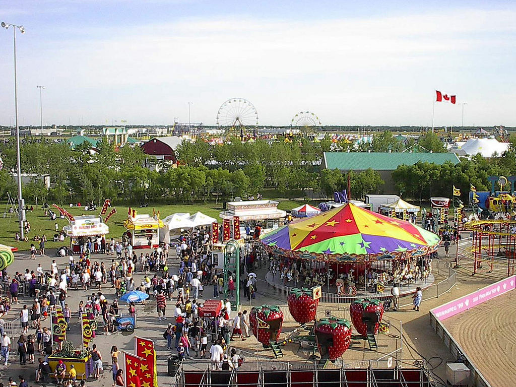 """Red River Exhibition Park, Winnipeg (370277)"" by Bob Linsdell via Flickr Creative Commons"