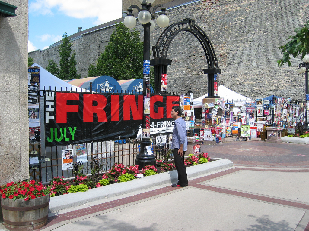 """Winnipeg Fringe Festival 2008"" by Kent Eh via Flickr Creative Commons"