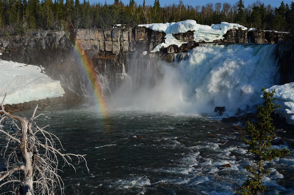 """Lac La Martre Waterfalls"" by WhatiMom via Flickr Creative Commons"