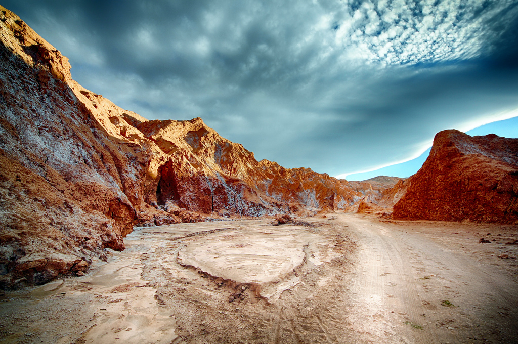"""Atacama Desert, Desert Valley, Chile"" by Tom Goskar via Flickr Creative Commons"
