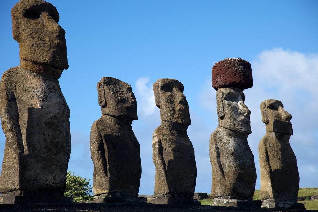 """Easter Island Ahu Tongakiri"" by Nicolas de Camaret via Flickr Creative Commons"