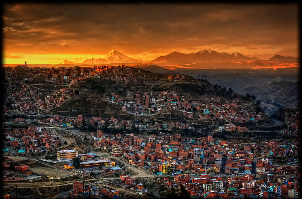 """La Paz, Bolivia"" by Pedro Szekely via Flickr Creative Commons"