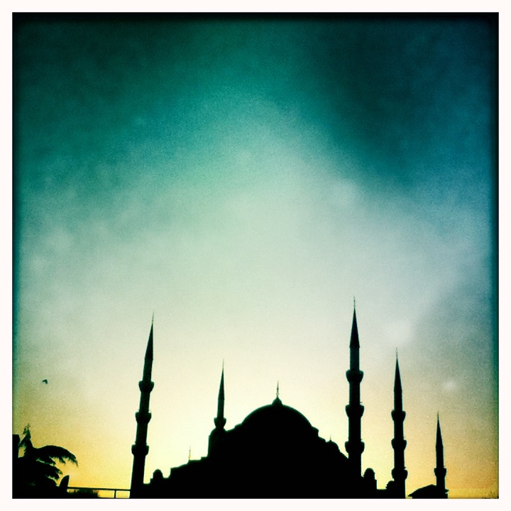 """Blue Mosque Sunset"" by Magalie L'Abbe via Flickr Creative Commons"