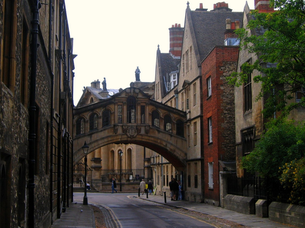 """'The Bridge of Sighs' Outside New College, Oxford"" by UGArdener via Flickr Creative Commons"