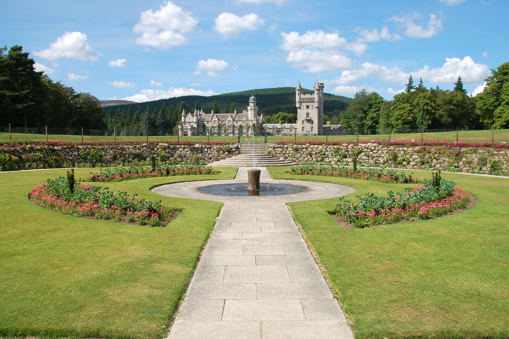 """Balmoral Castle, Grampian Scotland"" by Neil Roger via Flickr Creative Commons"