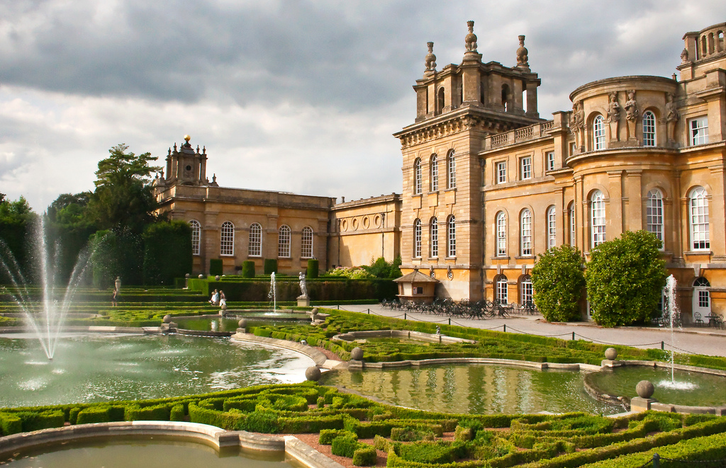 """Blenheim Palace and Formal Gardens"" by Sheila Sund via Flickr Creative Commons"