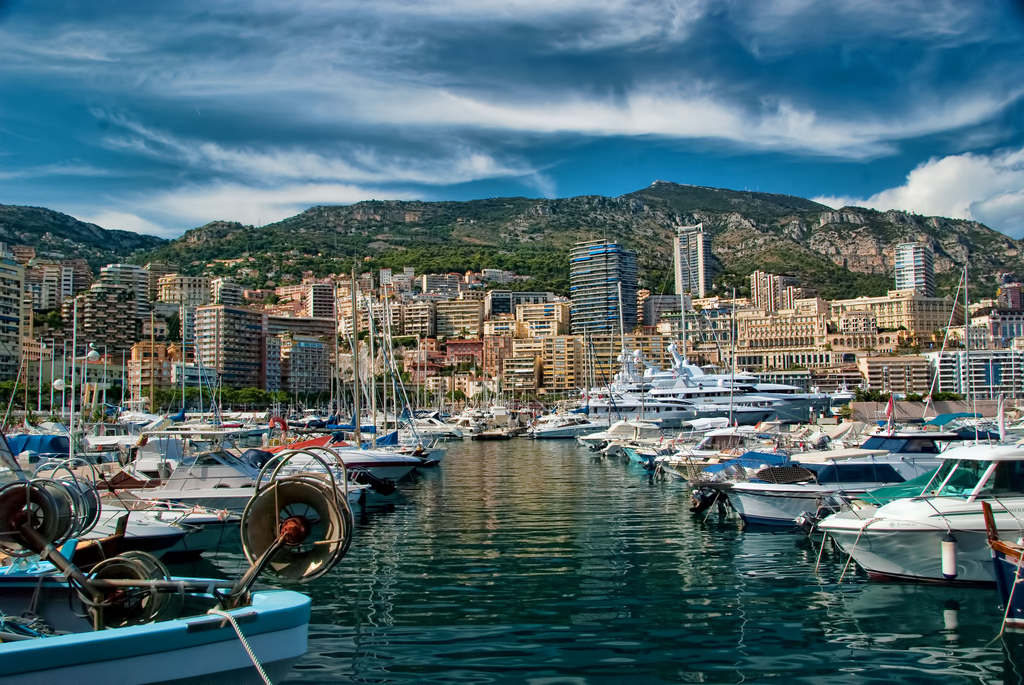 """Avenue of Yachts in Monaco"" by Trish Hartmann via Flickr Creative Commons"
