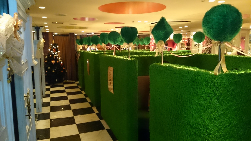 """Wooly Grass Booths"" by Littlelixie via Flickr Creative Commons"