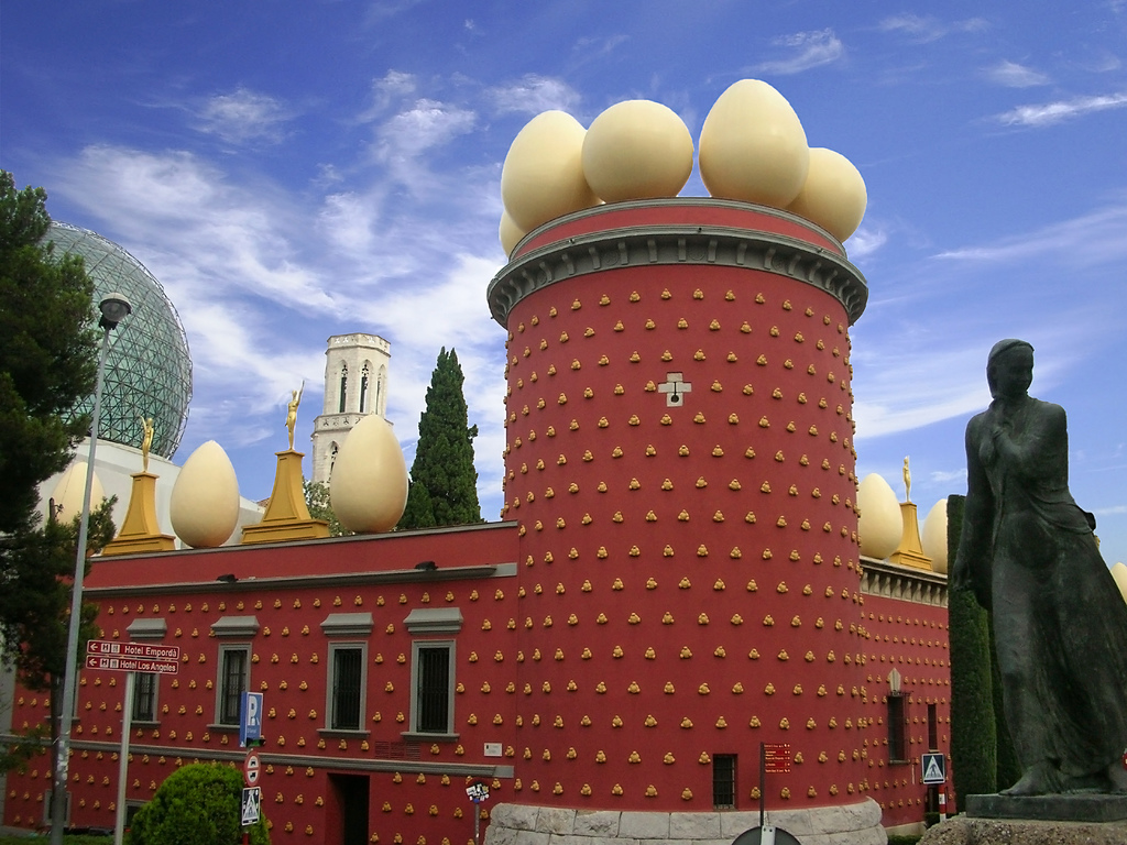 """Museo Dalí (Figueras)"" by Rucamher via Flickr Creative Commons"