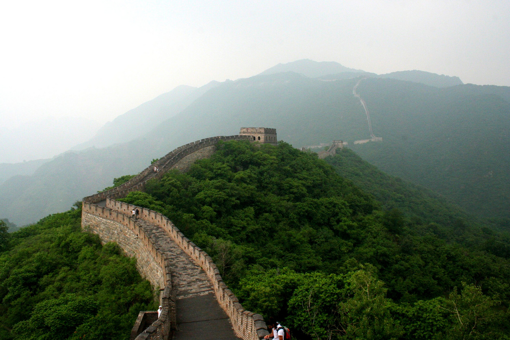 """Great Wall of China"" by Robin Zebrowski via Flickr Creative Commons"