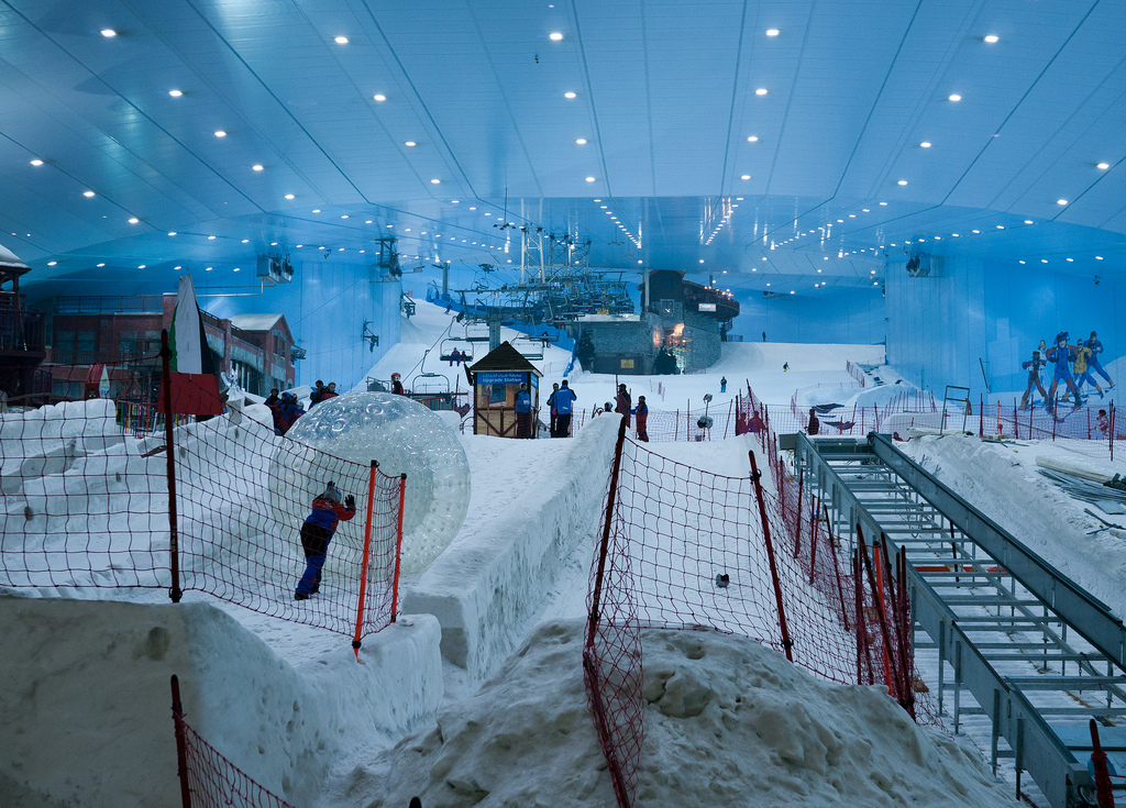 """Ski Dubai"" by Neekoh.fi via Flickr Creative Commons"