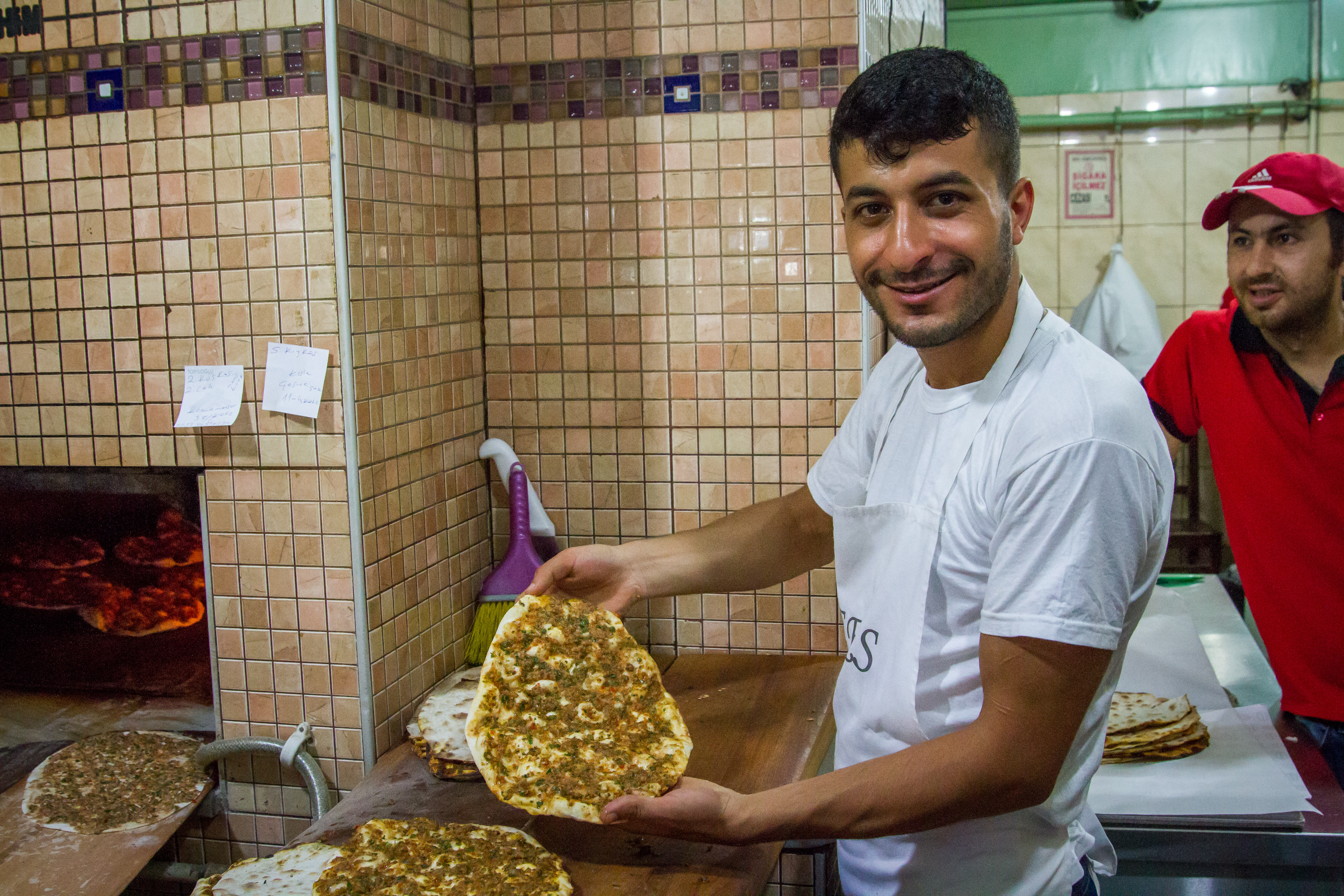 """Lahmacun Vendor in Istanbul Turkey"" by Erick Prince via Minority Nomad"