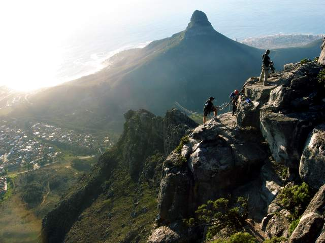 """Table Mountain - Lion's Head"" by Fontxito via Flickr Creative Commons"