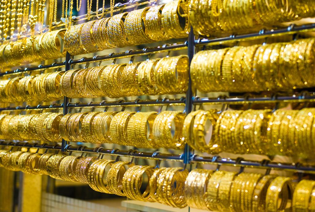 """Bracelets at the Dubai Gold Market"" by Joi Ito via Flickr Creative Commons"