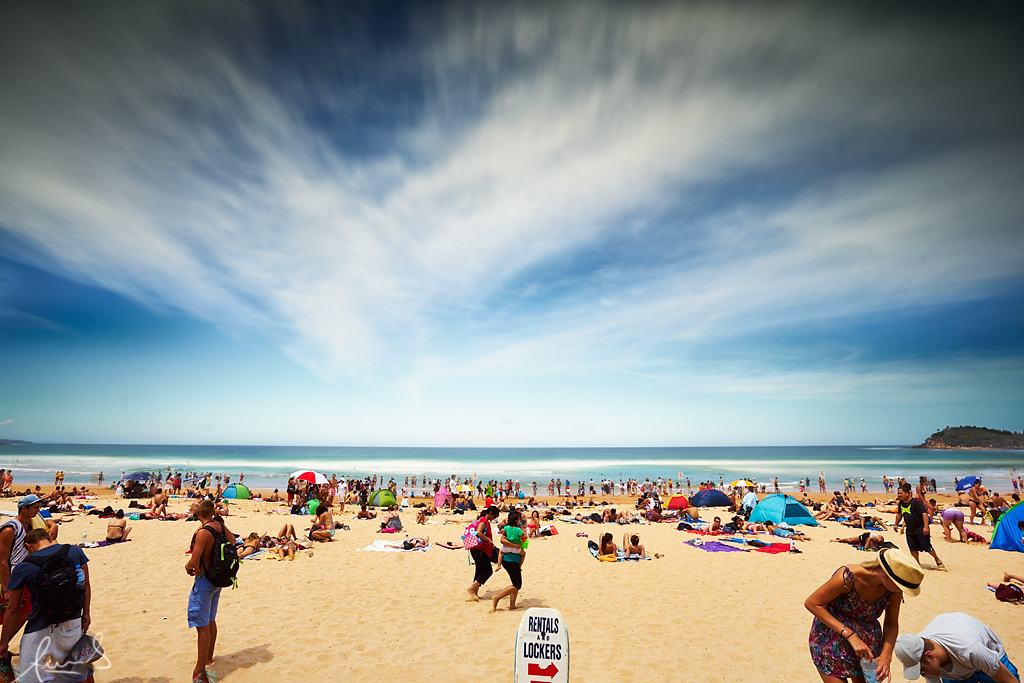 """Summer at Manly Beach Australia"" by Sacha Fernandez via Flickr Creative Commons"