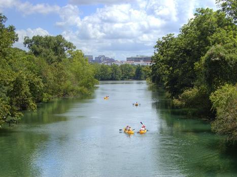Town lake kayaking j.byerly