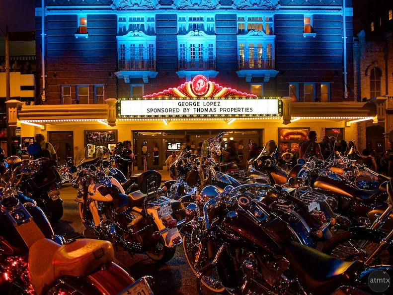 """Paramount Theater, ROT Rally 2012"" by Atmtx"