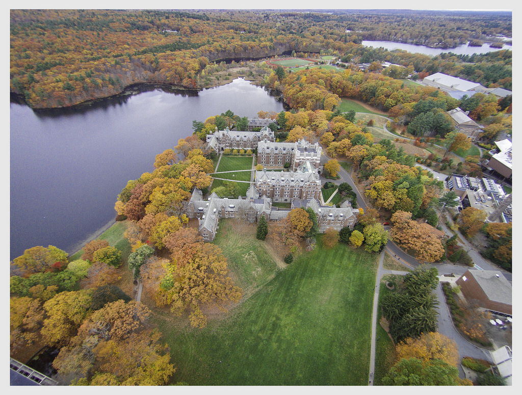 """Wellesley College Aerial"" by Soe Lin via Flickr Creative Commons"