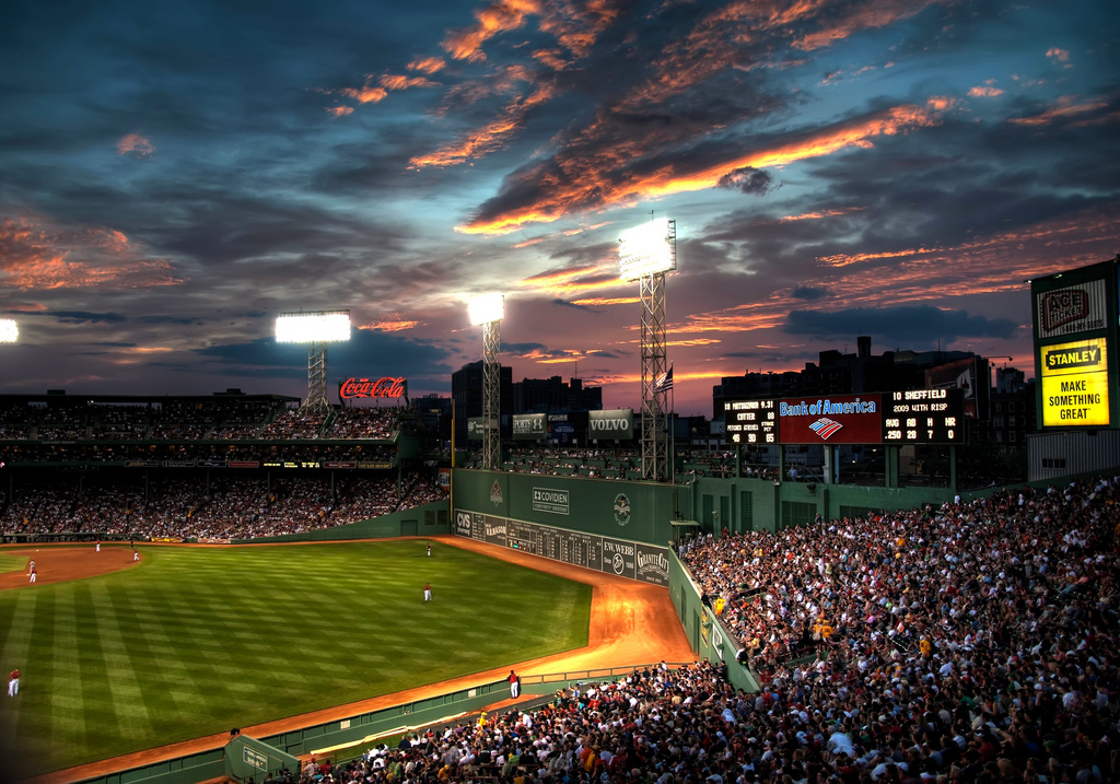 """Fenway Park 3"" by Werner Kunz via Flickr Creative Commons"