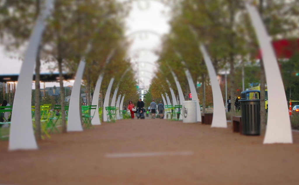 """Arches at Klyde Warren Park"" by Neff Conner via Flickr Creative Commons"
