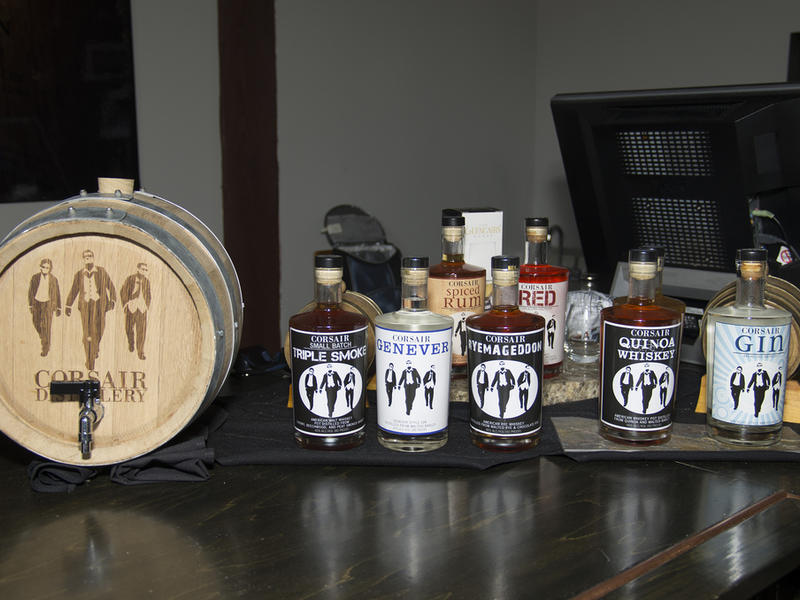 Corsair distillery  tamera clark