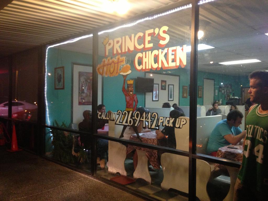 """Prince's Hot Chicken Shack"" by Alberto Cabello Mayero via Flickr Creative Commons"