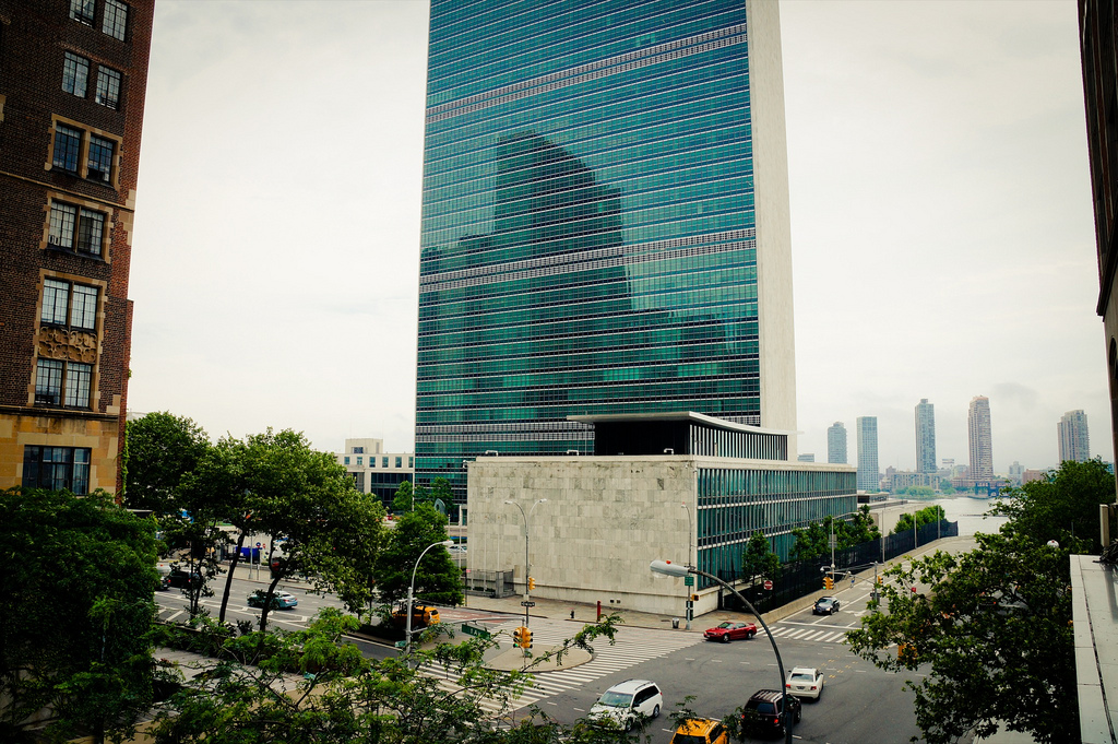 """United Nations, New York"" by Jeffrey Zeldman via Flickr Creative Commons"
