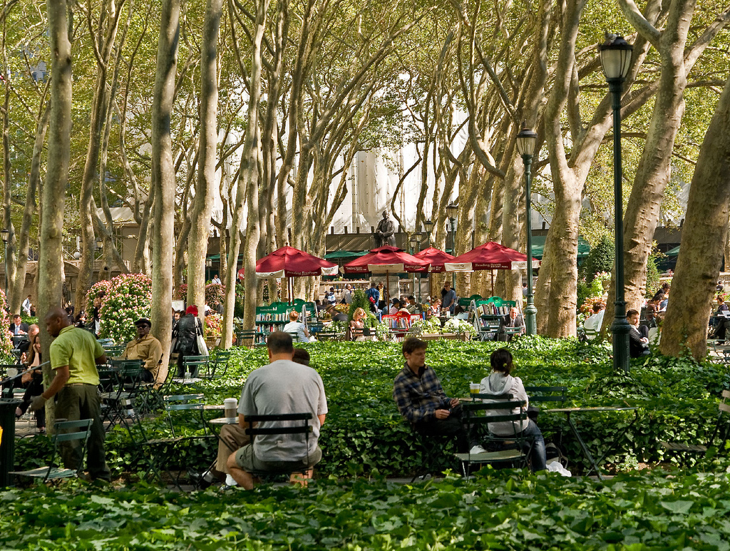 """Bryant Park"" by Dan Deluca via Flickr Creative Commons"