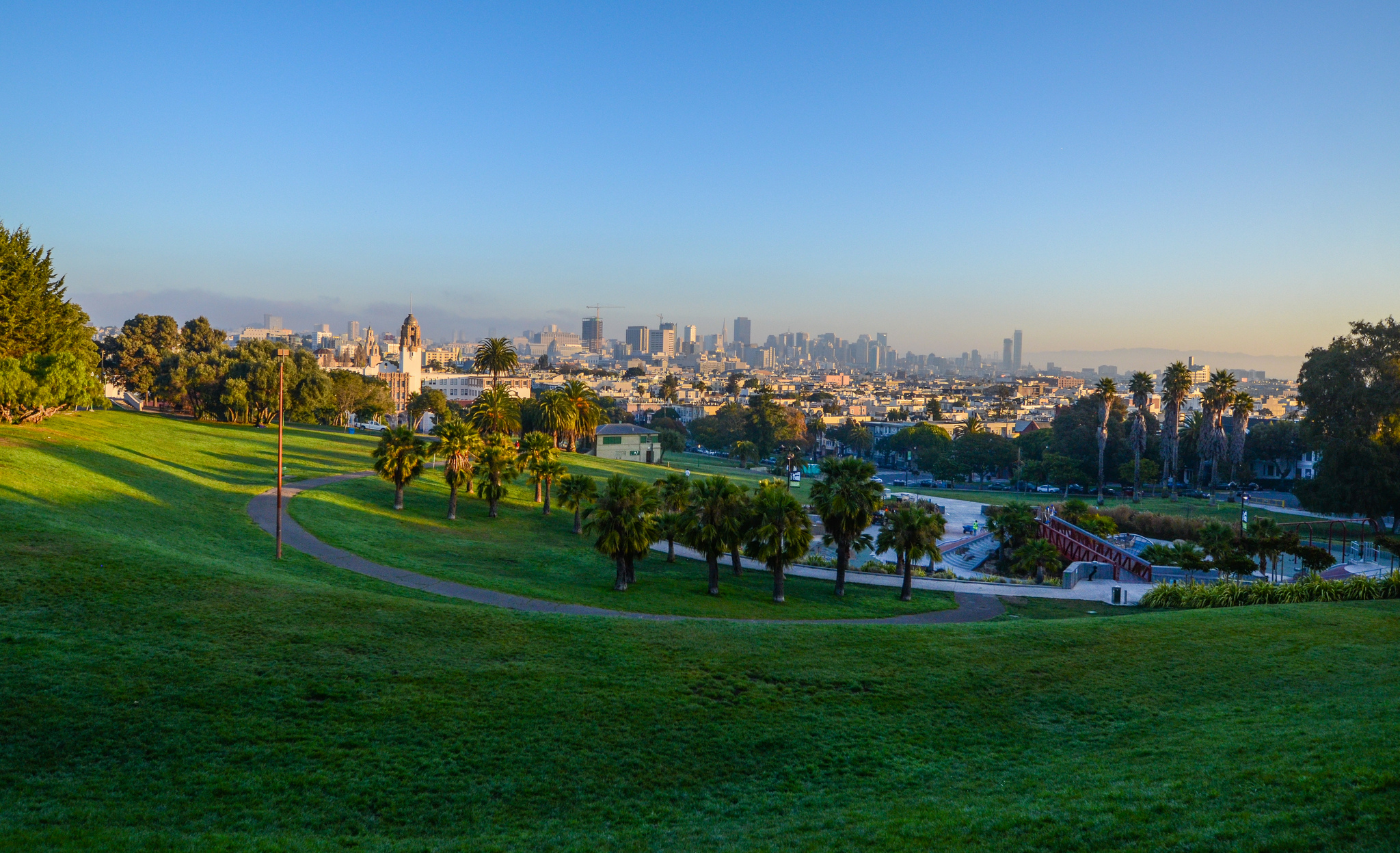 """Dolores Park, 8:00 AM"" by Markus Spiering via Flickr Creative Commons"
