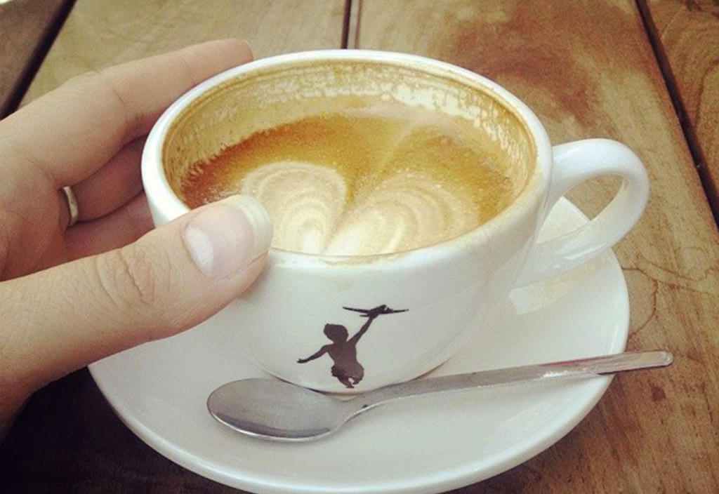 """""""A Harrowing Walk was Required to get to this Cappuccino"""" by Elizabeth via Flickr Creative Commons"""