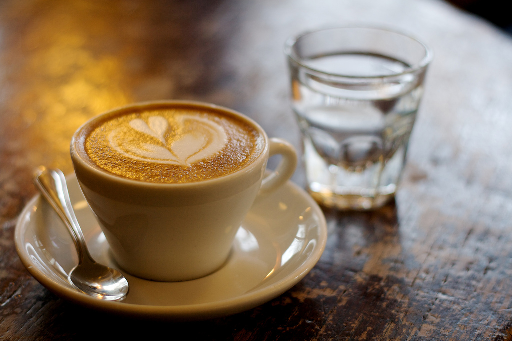 """""""A Cappuccino from Zoka Coffee"""" by David Wright via Flickr Creative Commons"""