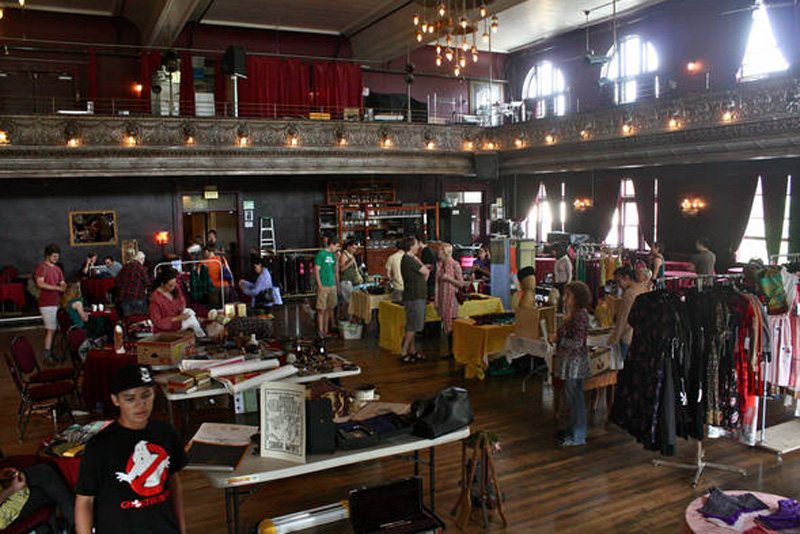 """The New, Weekly Century Ballroom Flea Market"" by J via Flickr Creative Commons"