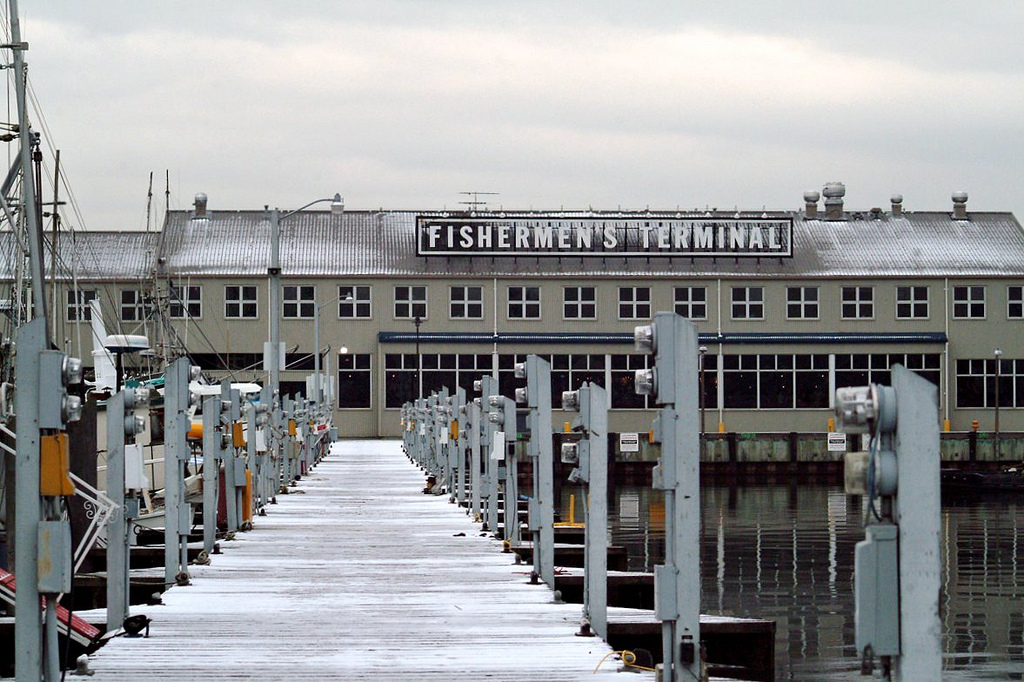 """Fisherman's Terminal"" by Whitney H via Flickr Creative Commons"