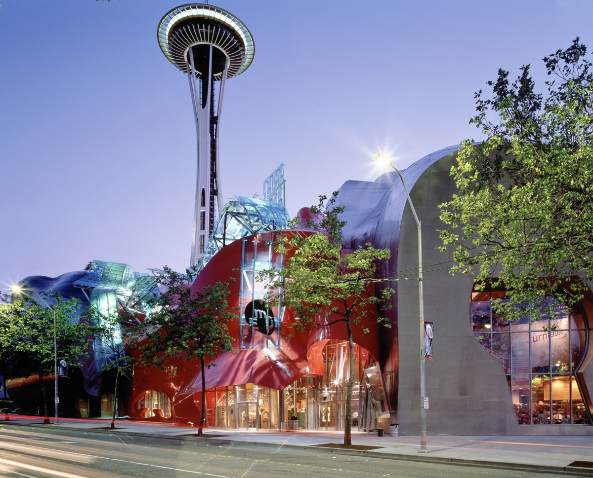"""Seattle Center - Space Needle - EMP - SciFi Museum"" by Smart Destinations via Flickr Creative Commons"