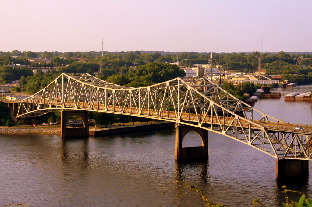 """O'Neal Bridge - The Shoals, AL"" by Brent Moore via Flickr Creative Commons"
