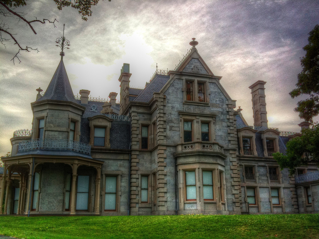 """Lockwood-Mathews Mansion"" by Michael Sean Terretta via Flickr Creative Commons"