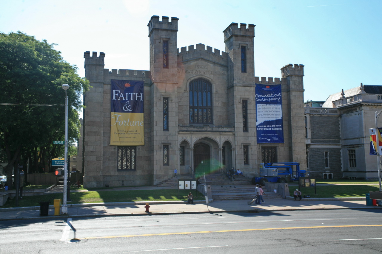 """Wadsworth Atheneum"" by Cliff via Flickr Creative Commons"