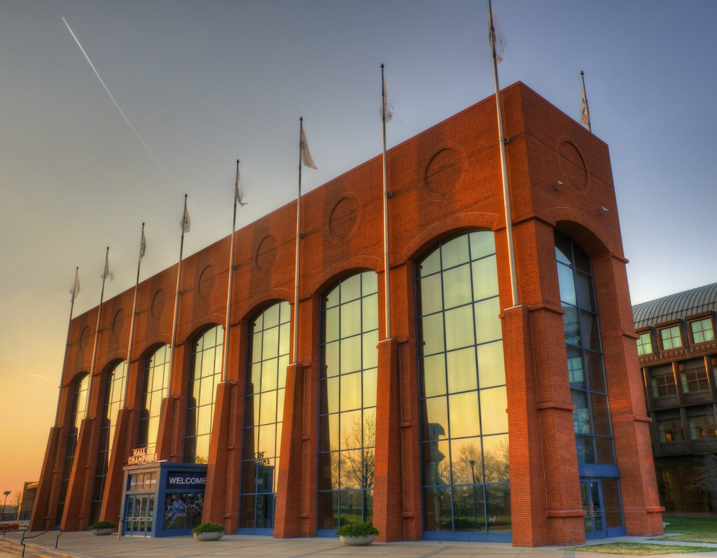 """NCAA Hall of Champions"" by Matthew Rogers via Flickr Creative Commons"