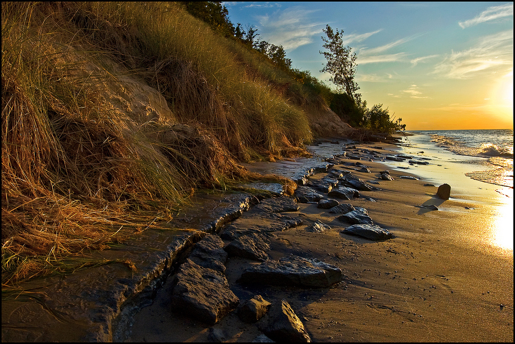 """Glistening Shore"" by Tom Gill via Flickr Creative Commons"