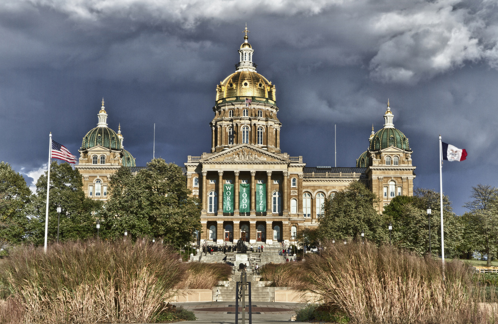"""Iowa State Capitol Building"" by Jason Mrachina via Flickr Creative Commons"
