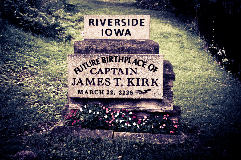 """Captain Kirk Birthplace Birthstone"" by SkSamuel via Flickr Creative Commons"