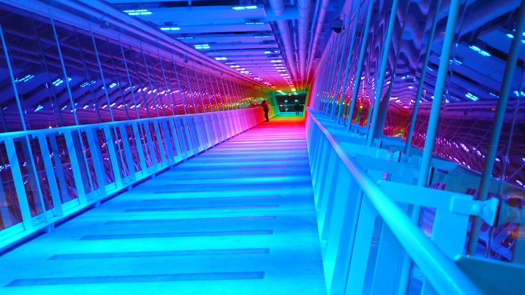 """Davenport Skybridge"" by Cjggbella via Flickr Creative Commons"