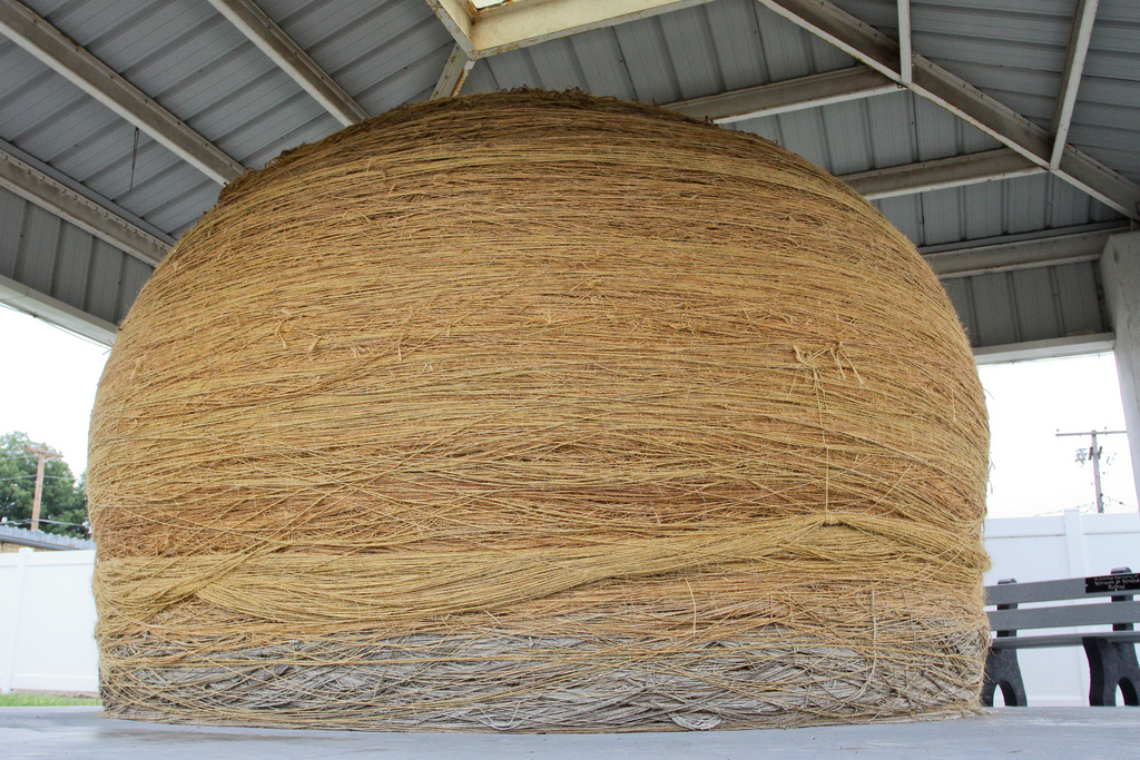 """World's Largest Ball of Twine"" by Adam Schweigert via Flickr Creative Commons"