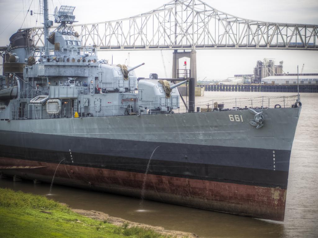 """USS Kidd"" by Sean Davis via Flickr Creative Commons"